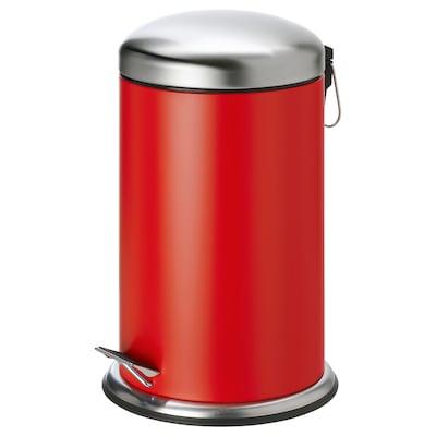 MJÖSA pedaalemmer rood 45.5 cm 28.5 cm 12 l
