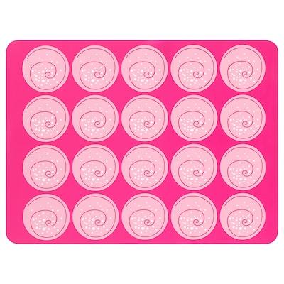 MÖNSTRAD oven-/bakmat roze 40 cm 30 cm