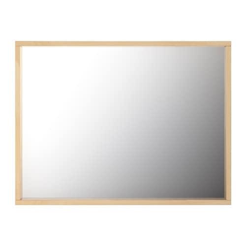 Molger spiegel berken ikea for Spiegel ikea