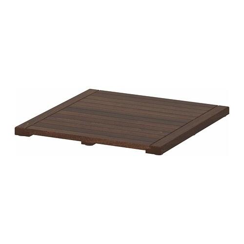 MOLGER Vlonder  donkerbruin  IKEA