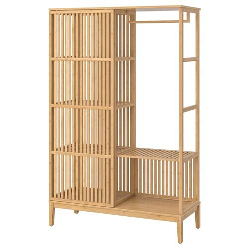 IKEA NORDKISA Open kledingkast met schuifdeur
