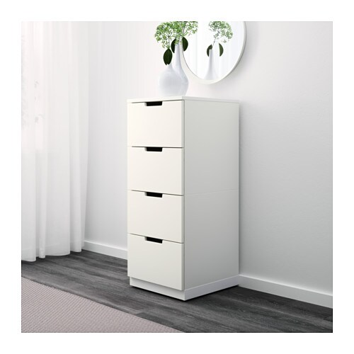 nordli ladekast met 4 lades ikea. Black Bedroom Furniture Sets. Home Design Ideas