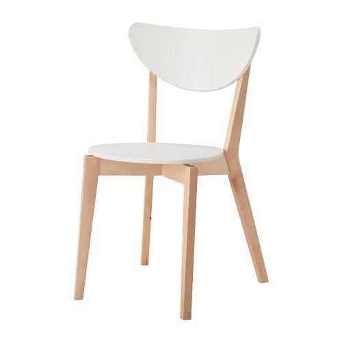 NORDMYRA Stoel IKEA De stoelen zijn stapelbaar, zodat ze minder plaats ...