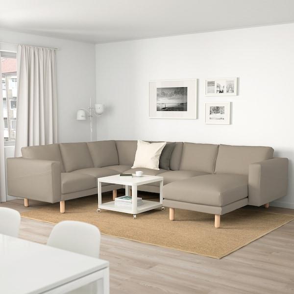 IKEA NORSBORG Hoekbank, 5-zits