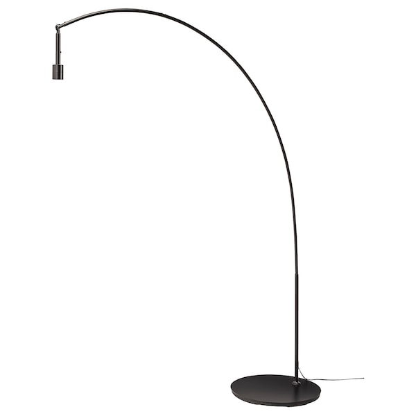 Spiksplinternieuw NYMÖ / SKAFTET Staande lamp, boog, wit, messingkleur - IKEA TU-51