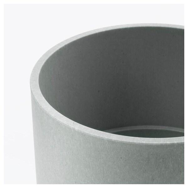 NYPON Sierpot, binnen/buiten grijs, 12 cm