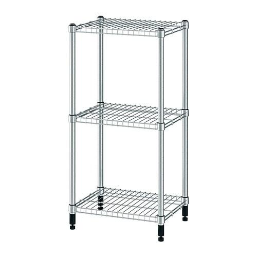 Ikea Metalen Opbergrek.Omar Stellingkast Ikea