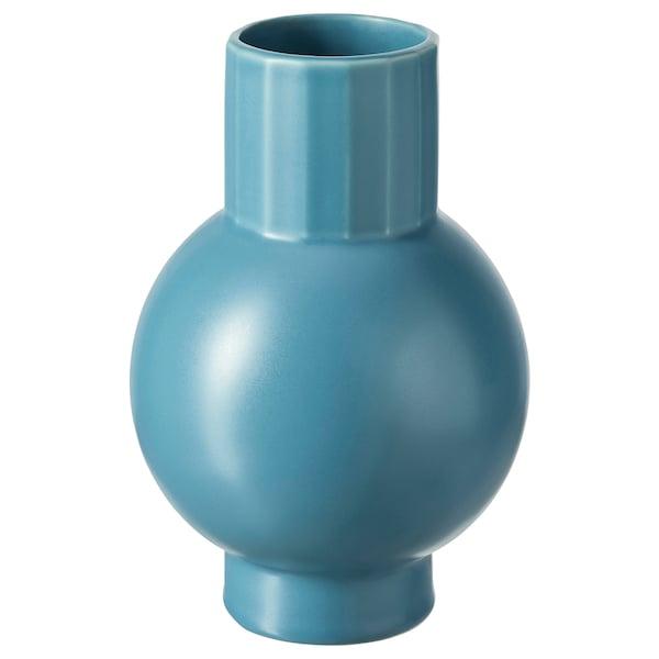 OMFÅNG Vaas, blauw, 20 cm