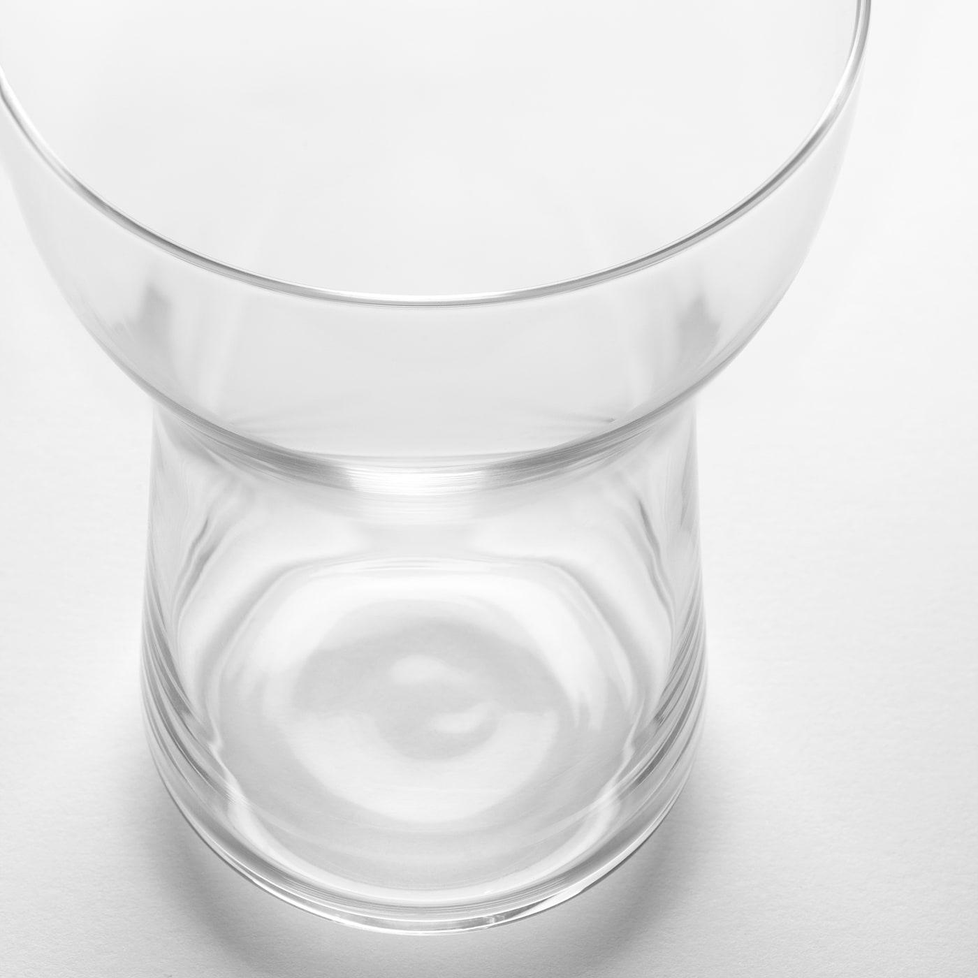 OMTÄNKSAM Glas, helder glas, 35 cl