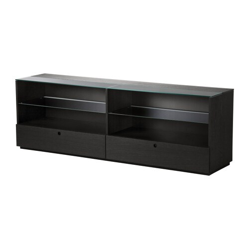 orrberg buffet met 2 lades zwartbruin ikea. Black Bedroom Furniture Sets. Home Design Ideas