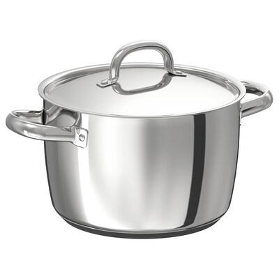 OUMBÄRLIG Pan met deksel, 5 l