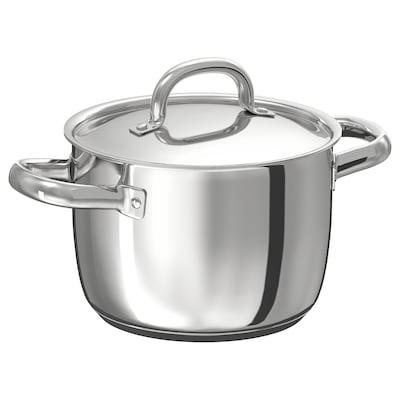 OUMBÄRLIG Pan met deksel, 3 l