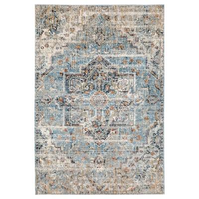 OVERLUND Vloerkleed, laagpolig, veelkleurig, 160x235 cm