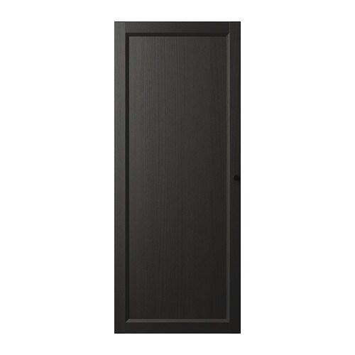oxberg deur zwartbruin ikea. Black Bedroom Furniture Sets. Home Design Ideas
