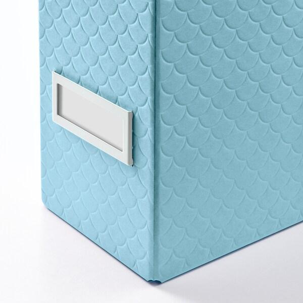 PALLRA Lectuurbak set van 2, lichtblauw, 10x25x30 cm