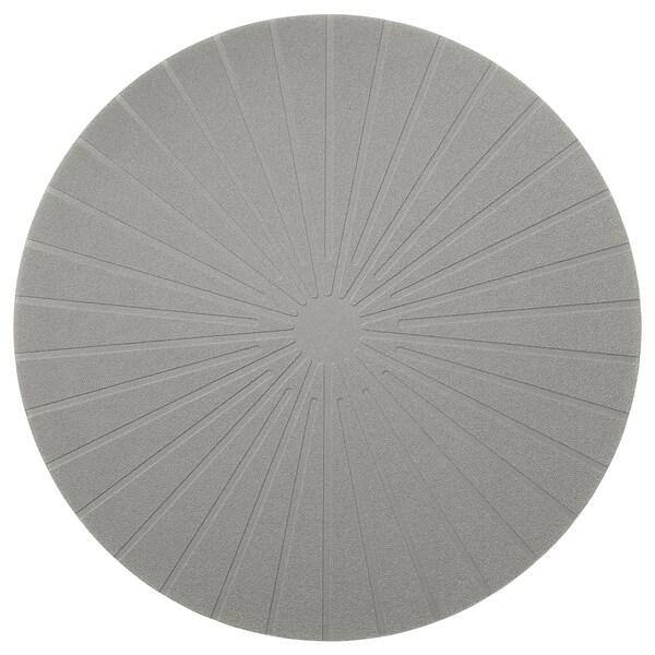PANNÅ Placemat, grijs, 37 cm
