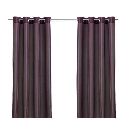 Keuken Gordijn Ikea : One Room Different Color Curtains