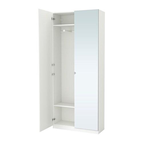 pax garderobekast 100x38x236 cm zachtsluitende scharnier ikea. Black Bedroom Furniture Sets. Home Design Ideas
