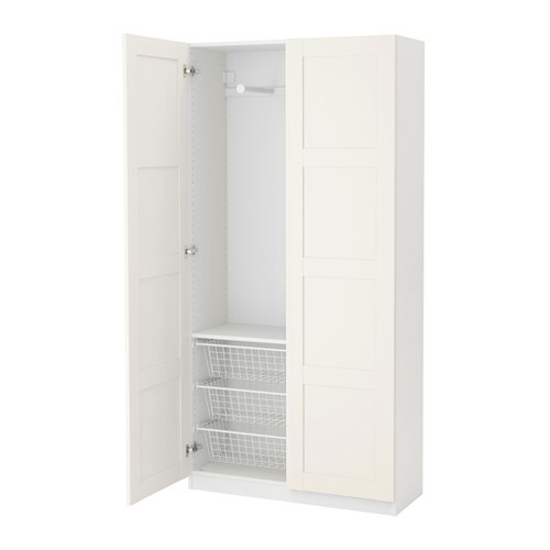 Ikea garderobekast verlichting for Slaapkamer garderobekasten