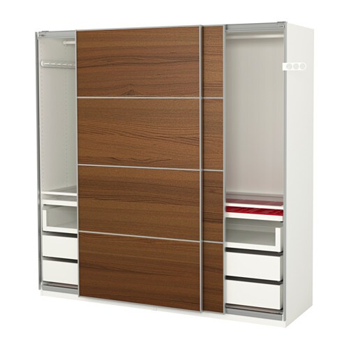 PAX Garderobekast   200x66x201 cm,     IKEA