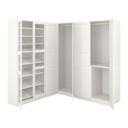 pax hoekkledingkast 210 188x201 cm ikea. Black Bedroom Furniture Sets. Home Design Ideas