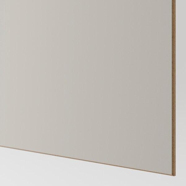 PAX Kledingkast, Mehamn eikenpatroon/lichtgrijs, 200x66x201 cm