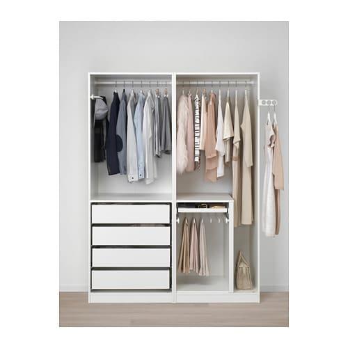 Garderobekast 150 Breed.Pax Kledingkast 150x58x201 Cm Ikea