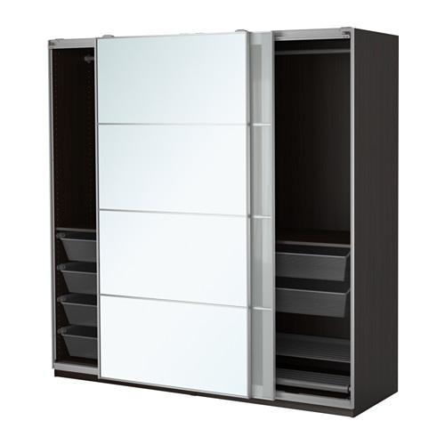 pax kledingkast 200x66x201 cm zachtsluitend beslag ikea. Black Bedroom Furniture Sets. Home Design Ideas