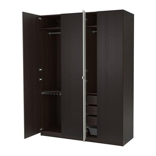 pax kledingkast 175x60x236 cm ikea. Black Bedroom Furniture Sets. Home Design Ideas