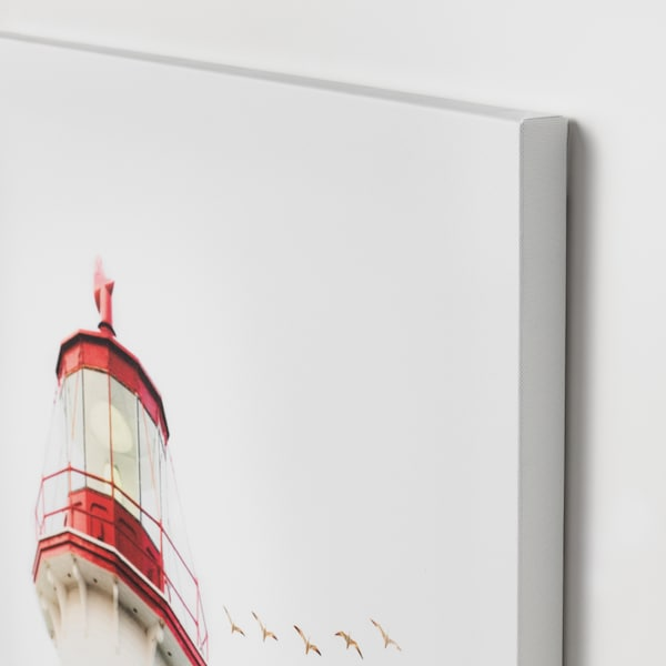 PJÄTTERYD afbeelding zonder lijst vuurtoren 50 cm 70 cm