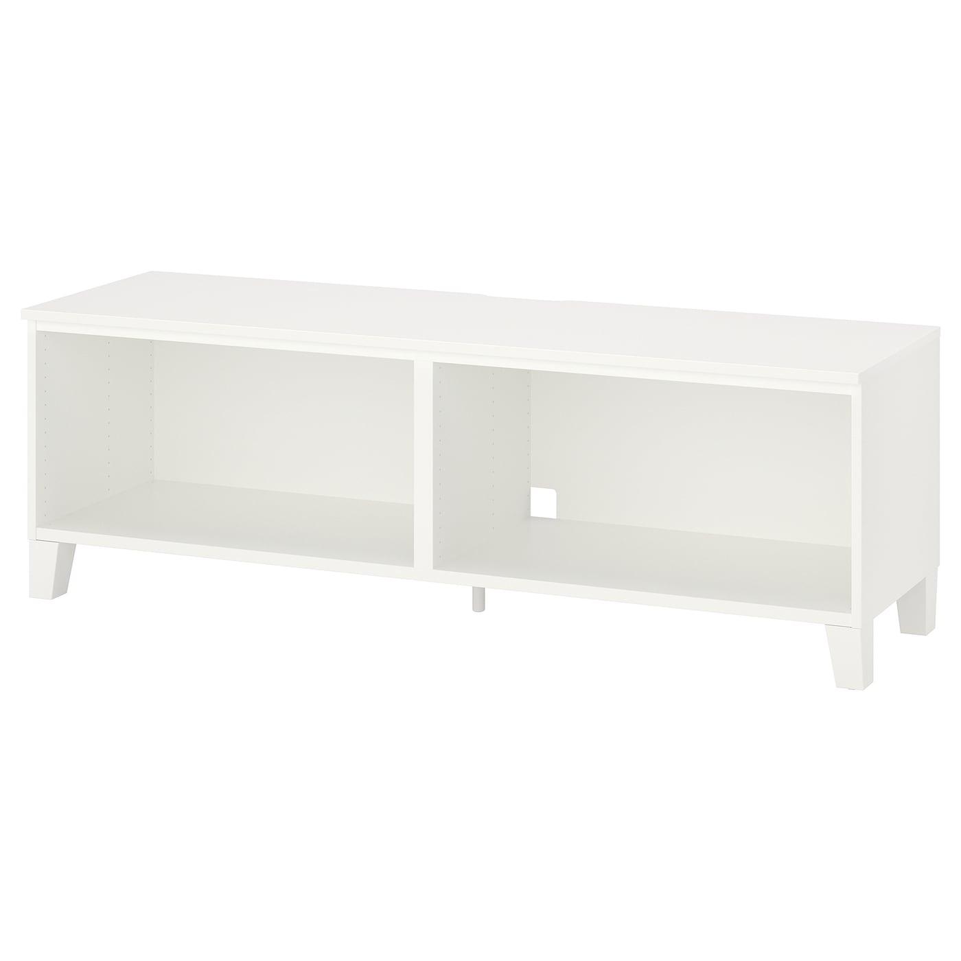 IKEA - PLATSA Tv-meubel - 160x42x53 cm - Wit/hout