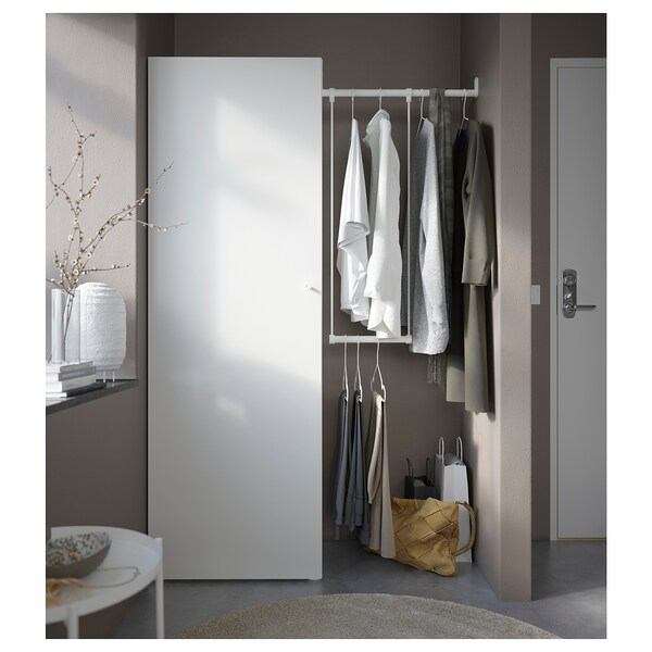 PLATSA kledingkast wit/Fonnes wit 60 cm 95 cm 120 cm 42 cm 181 cm