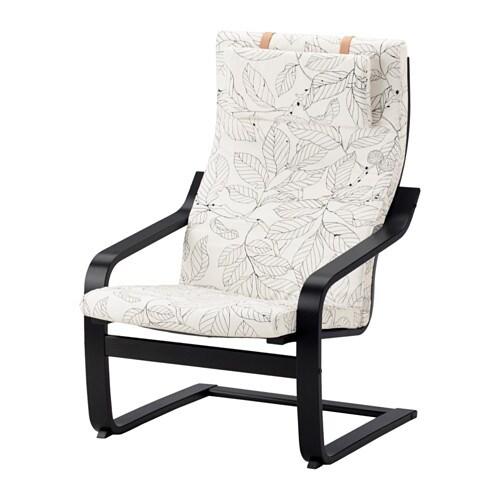 Zwart Wit Servies Ikea.Poang Fauteuil Zwartbruin Vislanda Zwart Wit