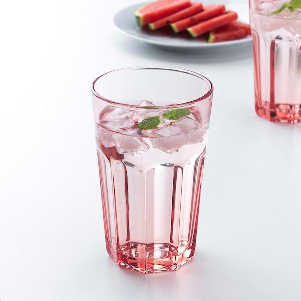 POKAL Glas, roze, 35 cl