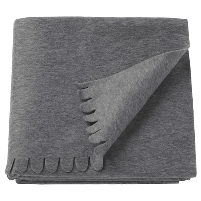 POLARVIDE plaid grijs 170 cm 130 cm