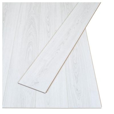 PRÄRIE laminaat eikenpatroon/wit 129 cm 19.0 cm 7 mm 14 kg 2.25 m² 9 st.