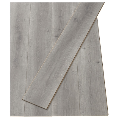 PRÄRIE Laminaat, eikenpatroon grijs, 2.25 m²