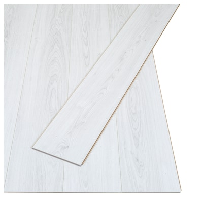 PRÄRIE Laminaat, eikenpatroon/wit, 2.25 m²