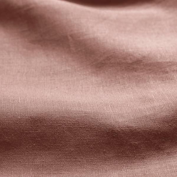 PUDERVIVA Dekbedovertrek en 2 kussenslopen, donkerroze, 200x200/60x70 cm