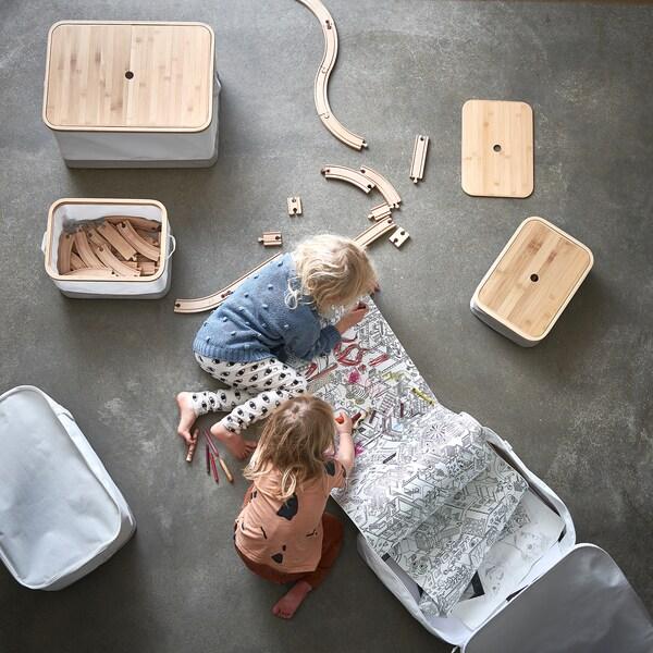 IKEA RABBLA Doos met deksel