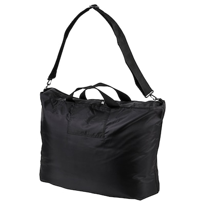 RÄCKLA Tas, opvouwbaar, zwart, 75x45 cm/55 l