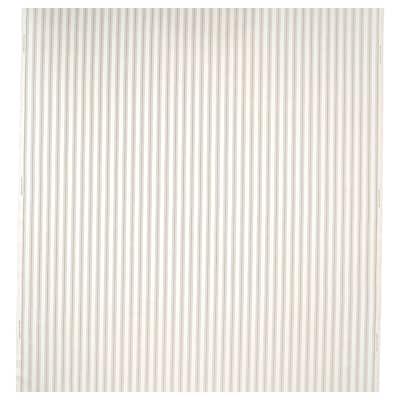 RADGRÄS Stof, wit/beige gestreept, 150 cm