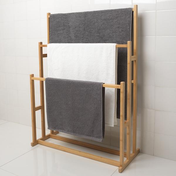 Ragrund Handdoekenrek Met 3 Stangen Bamboe Ikea