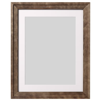 RAMSBORG Fotolijst, bruin, 40x50 cm