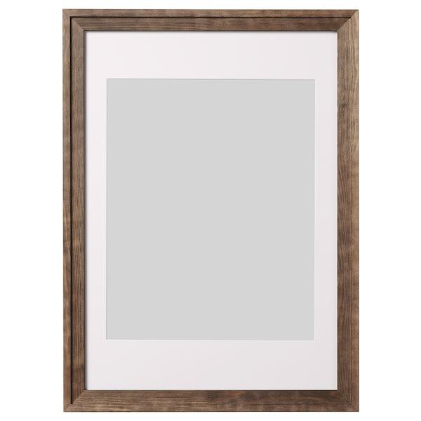 RAMSBORG Fotolijst, bruin, 50x70 cm