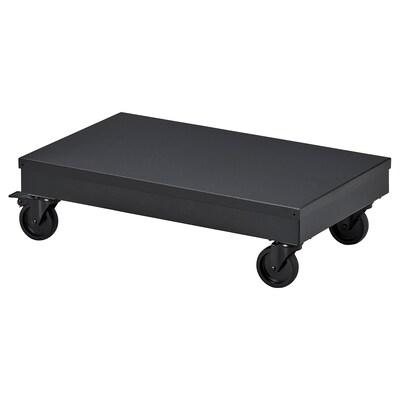 RÅVAROR Roltafel, zwart, 57x34 cm