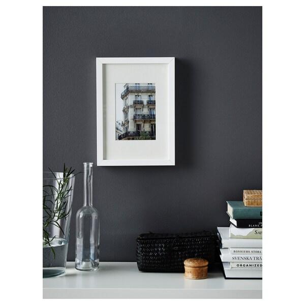 RIBBA Fotolijst, wit, 21x30 cm