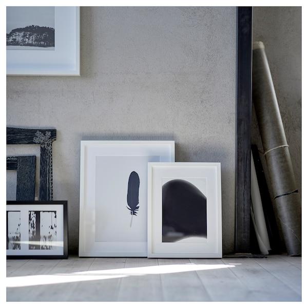 RIBBA Fotolijst, wit, 30x40 cm