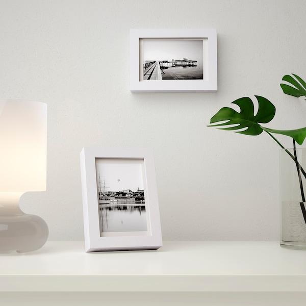 RIBBA Fotolijst, wit, 10x15 cm