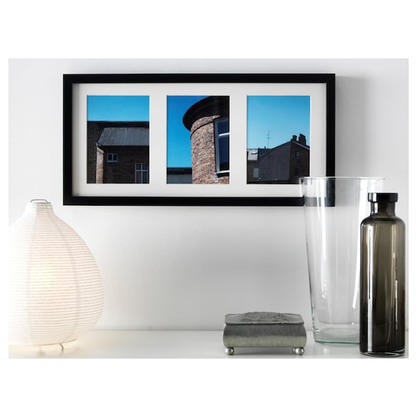 RIBBA Fotolijst, zwart, 50x23 cm
